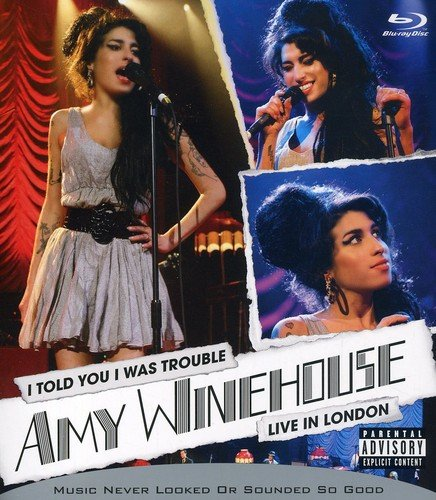 Amy Winehouse – I Told You I Was Trouble [Blu-ray] 61lNkhQHK8L