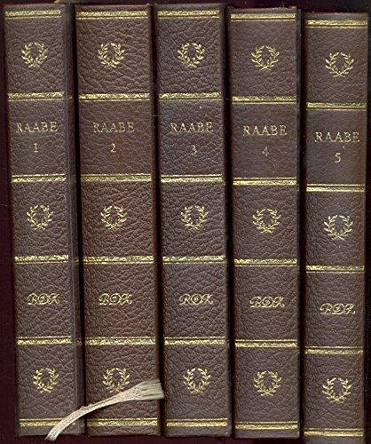 Raabes Werke : in 5 Bd. ausgew. u. eingeleitet von Anneliese Klingenberg. Bibliothek deutscher Klassiker