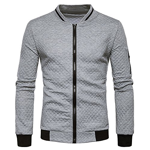 Clearance Sale [S-2XL] ODRDღ Hoodie Männer Sweatshirt Herren Plaid Sports Sweater Outwear Sweatjacke Parka Cardigan Lässige Mantel Kapuzenpulli Pulli Pullover Langarmshirts Jacke Hooded Anzug Blazer -