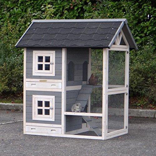 kaninchenstall gro freigehege. Black Bedroom Furniture Sets. Home Design Ideas