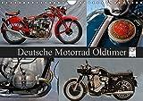 Deutsche Motorrad Oldtimer (Wandkalender 2019 DIN A4 quer): Mechanische Legenden (Monatskalender, 14 Seiten ) (CALVENDO Mobilitaet) - Ingo Laue