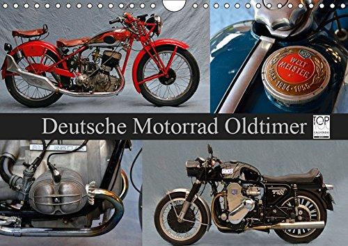 Deutsche Motorrad Oldtimer (Wandkalender 2019 DIN A4 quer): Mechanische Legenden (Monatskalender, 14 Seiten ) (CALVENDO Mobilitaet)