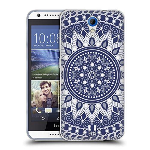 Head Case Designs Ensorcelé Mandala Coque en Gel Doux Compatible avec HTC Desire 620/620 Dual Sim