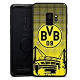 DeinDesign Samsung Galaxy S9 Silikon Hülle Case Schutzhülle BVB Muster Borussia Dortmund