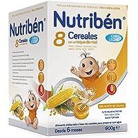 Nutribén Papilla 8 Cereales Miel con Leche Adaptada ...