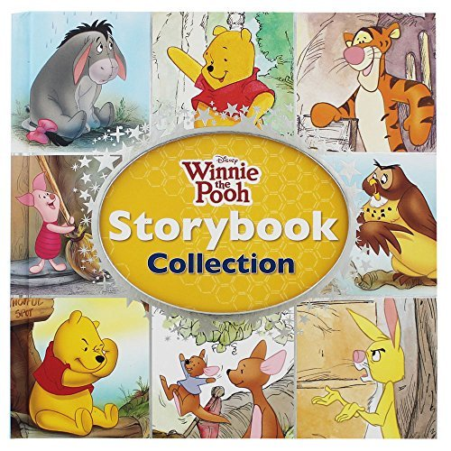 Winnie the Pooh storybook collection.