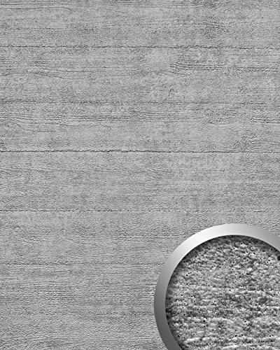 AUTOADHESIVO DE DISEñO HORMIGON CON MARCAS DEL ENCOFRADO GRIS PLATEADO WALLFACE 14802 URBAN 2 60 M2