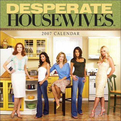 Click for larger image of Desperate Housewives: 2007 Wall Calendar
