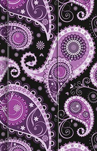Premium Notes Small Paisley lila 2011