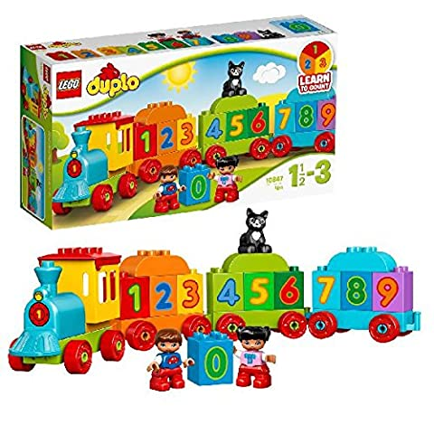 LEGO - 10847 - DUPLO - Jeu de Construction - Le Train des Chiffres