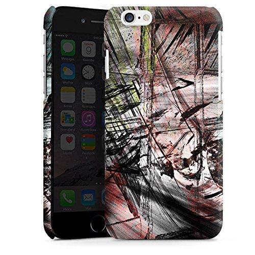 Apple iPhone 5s Housse étui coque protection Grunge Abstrait Graffiti Cas Premium brillant