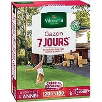 Vilmorin 4460715 Gazon 7 Jours, Vert, 3 kg