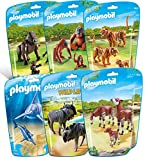 Playmobil Jouet Collection Le Zoo - Pack 6 Sets danimaux n°1