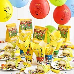 Pippi Calzaslargas 44.3768.00 - cuadro del Partido, de 12 piezas Set