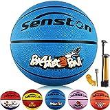 senston Balon Baloncesto Niños Balon de Baloncesto Pelota Baloncesto de Goma de Tamaño 5