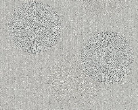 A.S. Création Vliestapete Spot 2, Mustertapete, grau,