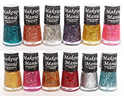 Makeup Mania Exclusive Nail Polish Set of 12 Pcs (Multicolor Set  71)