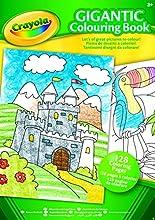 Crayola - 04-1407-E-000 - Livre à Colorier - Album de Coloriage Géant