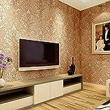 REAGONE Non-Woven Wallpaper stereoskopischen 3D-Relief Tapeten, Umweltpolitik, europäischen Stil Non-Woven Wallpaper, Khaki