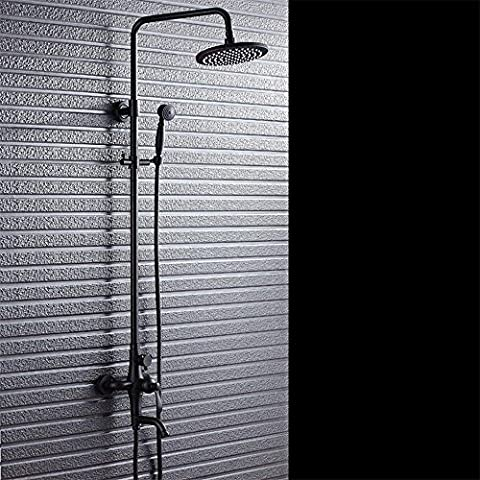 RFF-Set doccia doccia bronzo rame nero