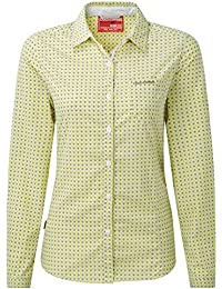 Craghoppers Womens/Ladies NosiLife Olivie Long Sleeve Shirt