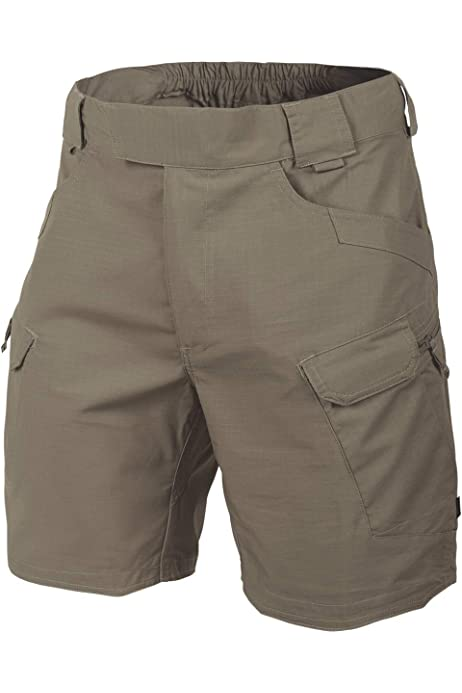 Helikon Hombres Urban Tactical Pantalones Cortos 8.5 Adaptive Verde tama/ño 3XL