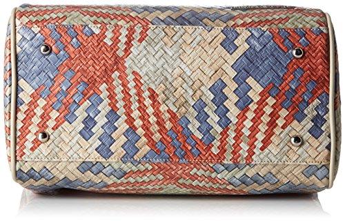 Silvian Heach Trunk Pradamano, Borsa a Mano Donna, 17 x 23 x 30 cm (W x H x L) Multicolore