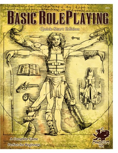 Basic Roleplaying Quick-Start Edition: The Chaosium Roleplaying System por Jason Durall