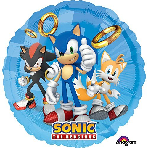 Amscam Folie Ballons,-C: Sonic The Hedgehog