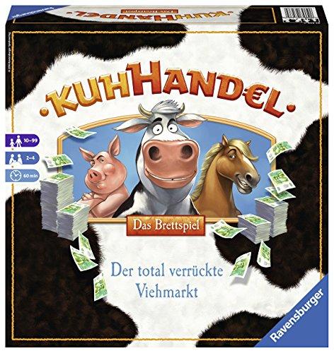 Preisvergleich Produktbild Ravensburger Spiele 27238 - Kuhhandel, Das Brettspiel