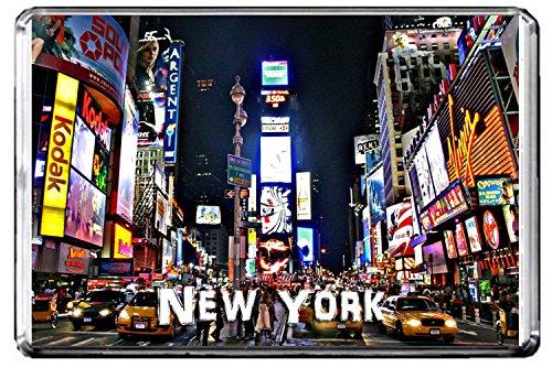 E099 NEW YORK KÜHLSCHRANKMAGNET USA TRAVEL PHOTO REFRIGERATOR MAGNET