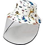 DRESHOW Bobs Bébé Filles Enfant Chapeau de Soleil Unisexe en Pliable Protection Anti-UV Solaire Plage Chapeaux de Soleil Bébé