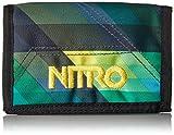 Nitro Wallet, Geldbörse, Geldbeutel, Portemonnaie, Münzbörse, Geo Green, 10 x 14 x 1 cm, 1131-878000_1279, 60g