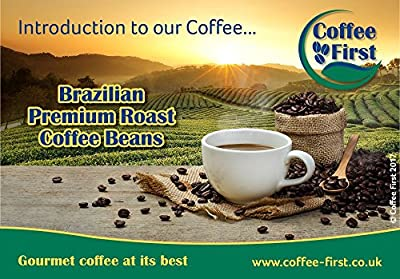 Coffee First Brazilian Gourmet Arabica Roast Coffee Beans by Coffee First Holdings Limited