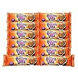 #2: Bournvita Cadbury Pro Health Chocolate Cookies, 46.5g (Pack of 12)