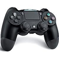 TUTUO Wireless Controller,Bluetooth Joystick Controller di Gioco Doppio Shock a Sei-Assi Joystick con TouchPad e Jack…