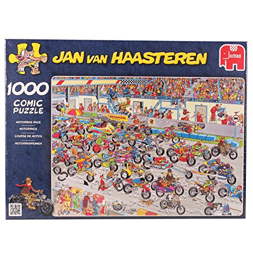 Jan van Haasteren - Motorbike Race (1000 pieces) for sale  Delivered anywhere in UK