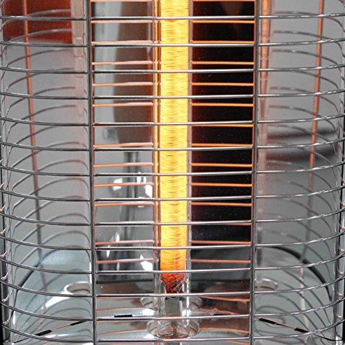 VASNER StandLine 25R | Stand-Heizstrahler Infrarot 2500 Watt – Silber grau – Fernbedienung Bild 5*