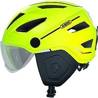 ABUS Pedelec 2.0 ACE Stadthelm - Hochwertiger E-Bike Helm mit Rücklicht und Visier für den Stadtverkehr - für Damen und…