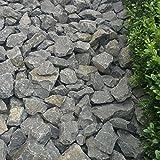 Basalt Gabionensteine Bruchsteine 500kg Big Bag 50-80mm