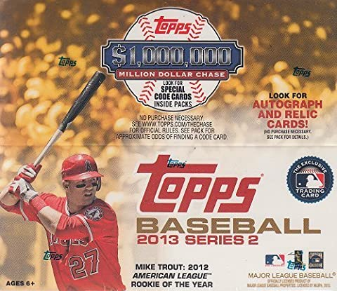 MLB 2013 Retail Topps Baseball Series 2 Cards by Topps