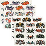 te-trend 24 interactivo Tatuajes Niños Niñas O Niños körpertattoos Live APP Magic Tatts - Mezcla