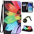 Para Smartphone Samsung Galaxy S6Funda Flip Cover Funda Piel [Tarjetero] funda piel cartera Executive Diseño + Polvo Conector