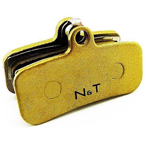 Noah and Theo nt-bp018/SI sinterizzato Pastiglia freno per Shimano ZEE BR-M640, saint br-m810 E SAINT br-m820. Anche Compatibile con cuscinetti MODELLI H01A,H03C,D01S E D02S