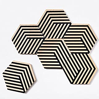 Table Tiles Optic - Untersetzer-Set | Bower | Areaware