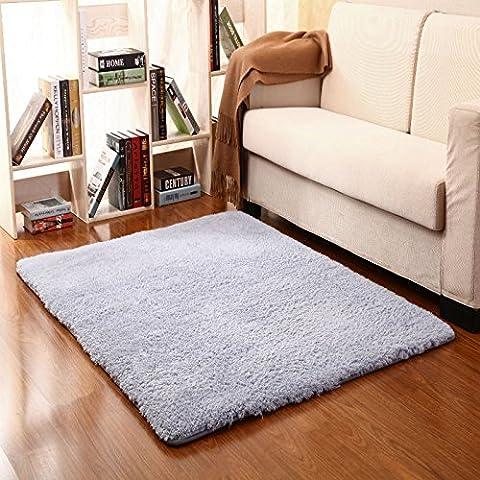 Casa Continental ultra suaves alfombras gruesas almohadillas de lana hermoso salón y dormitorio con literas deriva lateral en el panel de las alfombras de entrada ,40*60cm, la parte