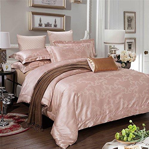 DACHUI Reine Baumwolle Tencel Bettwäsche setzt einen hohen Standard im Frühling und Sommer doppel American Textile verpackt, CH 0025 H, 220 * 240 CM (Seide-bett-abdeckung)