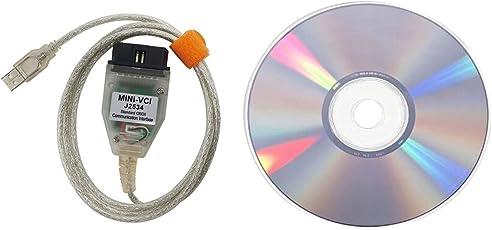 Detectoy Portable Mini VCI Diagnosewerkzeug Kabel High Performance ECU Scanner für Toyota für Lexus Series Auto Fahrzeuge