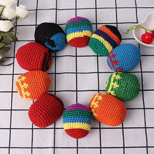 FXCO Sand Tasche Handgefertigte Säcke Footbag Spielzeug Bälle Magic Jonglierball Kid Outdoor Spielzeug Weichen Ball