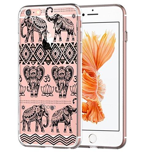 Coque iPhone 6 Plus/6S Plus,Vanki® Modèle simple Housse TPU Souple Etui de Protection Silicone Case Soft Gel Cover Anti Rayure Anti Choc pour Iphone 6 Plus/6S Plus 6